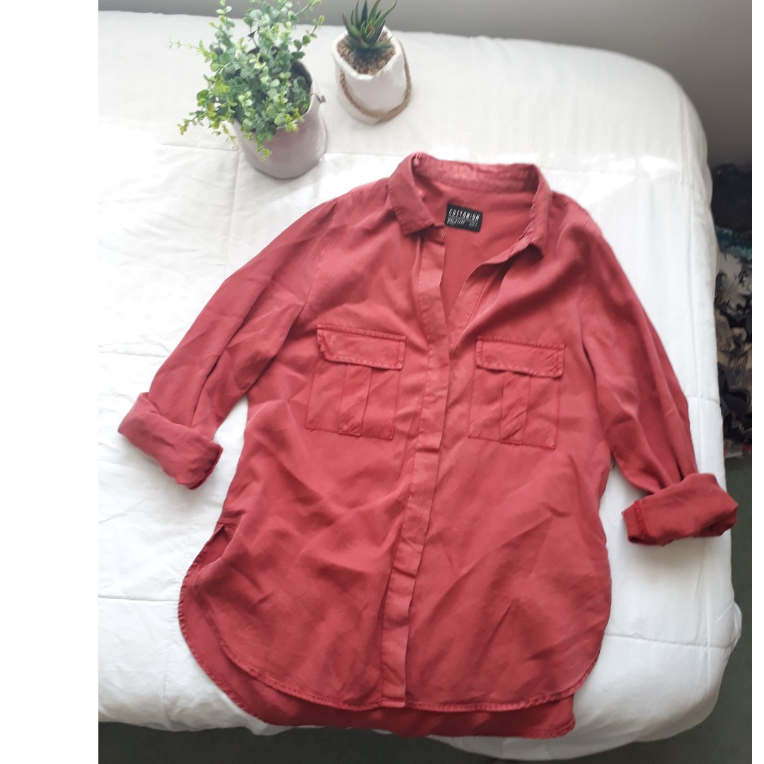 Rusty Red shirt
