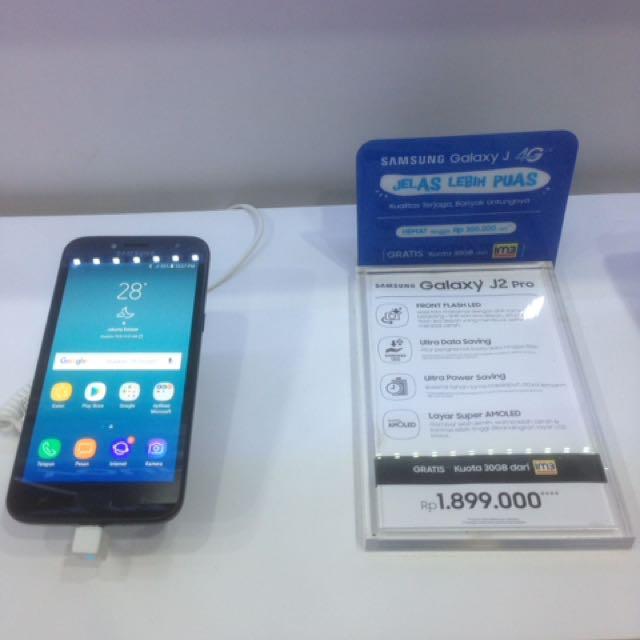 Samsung J2 Pro New Bisa Dicicil Telepon Seluler Tablet Ponsel Android Di Carousell