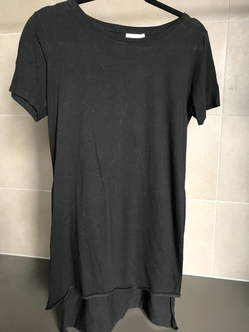 SEED black cotton tshirt