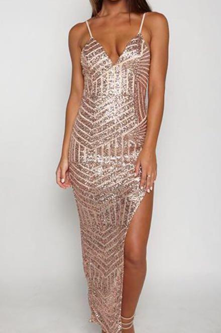 Sequin MAXI ball dress