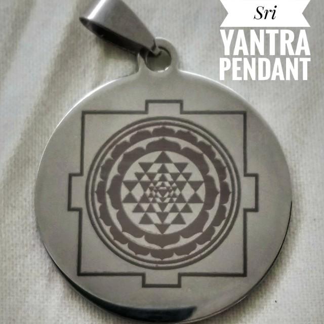 Sri yantra mantra pendant everything else others on carousell photo photo photo photo aloadofball Image collections