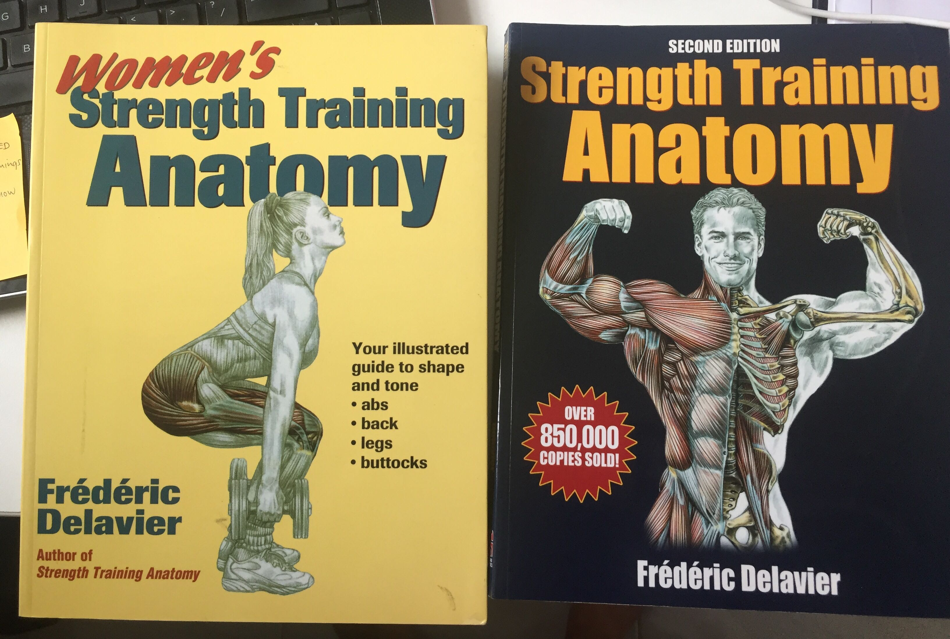 Strength Training Anatomy - Frederic Delavier, Books & Stationery ...