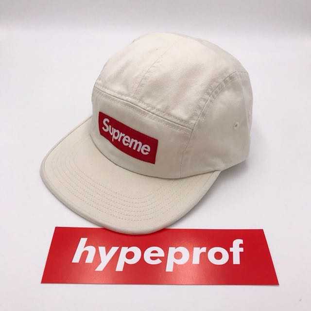 ed7d50e1c13 Supreme Washed Chino Twill Camp Cap Stone