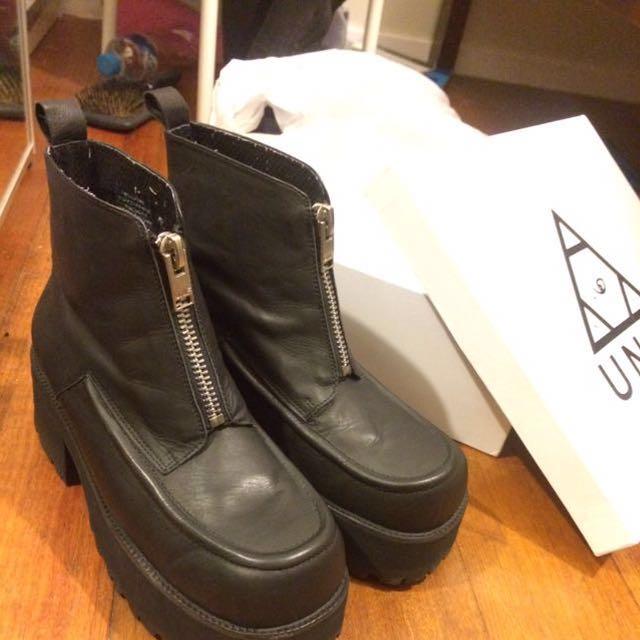 UNIF Alec boots platform shoes