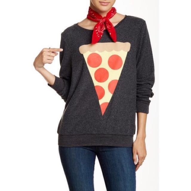 VEUC - Wildfox - Hot Slice Pizza Sweatshirt Size S