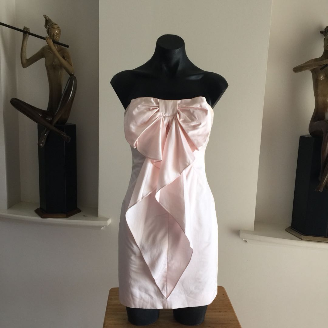 (XS) FOREVER NEW PINK DRESS