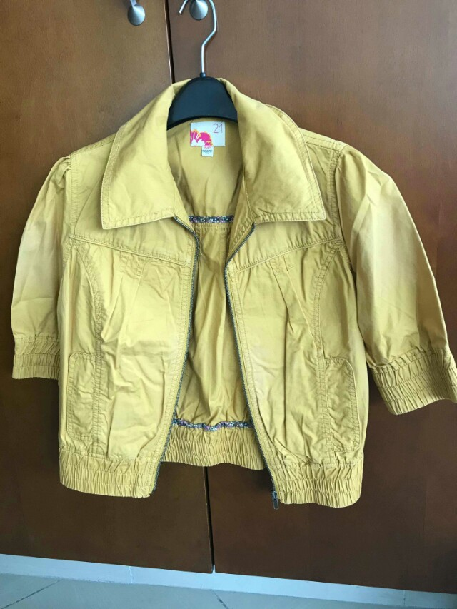 Imported PreLoved Yellow blazer