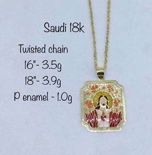 NECKLACE(PENDANT AND CHAIN) GOLD