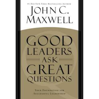 [eBook] Good Leaders Ask Great Question - John Maxwell