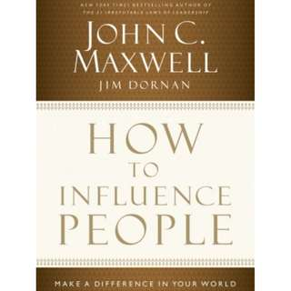 [eBook] How to Influence People - John Maxwell