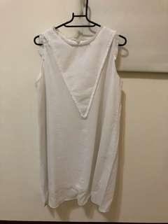 正韓棉麻洋裝