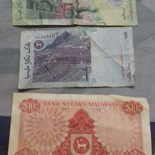 Old notes malaysia