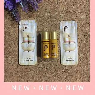 NEW The History Of Whoo In Yang Balance & Lotion 5ml