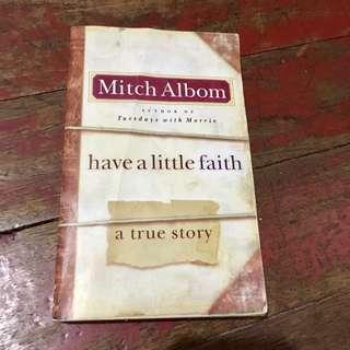 Mitch Albom-Have a little faith