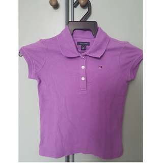 Tommy Hilfiger Purple top 4 years old Girl