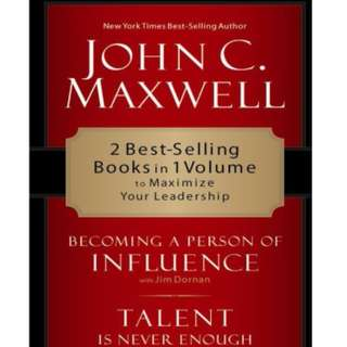 [eBook] Maxwell 2 in 1 - Becoming a Person of Influence - John Maxwell