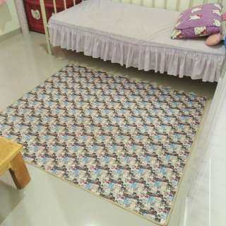 Karpet waterproof motif paris