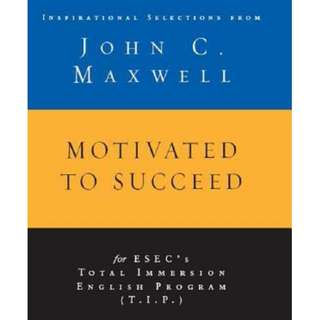 [eBook] Motivated to Succeed - John Maxwell