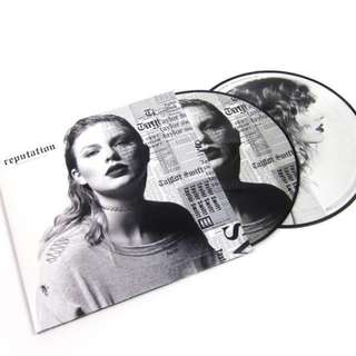 Taylor Swift - Reputation [VINYL] Double LP