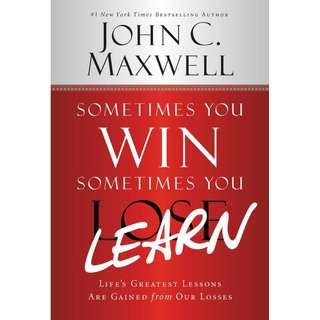 [eBook] Sometimes You Win, Sometimes You Learn - John Maxwell