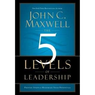 [eBook] The 5 Levels of Leadership - John Maxwell