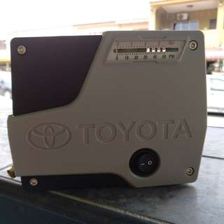Original Toyota tyre inflator pump