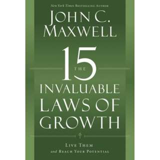 [eBook] The 15 Invaluable Laws of Growth - John Maxwell