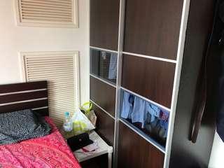 Bed + Wardrobe