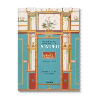 Taschen Fausto & Felice Niccolini: The Houses and Monuments of Pompeii XL