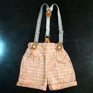 Shorts w/ Suspender for 1-2 y/o