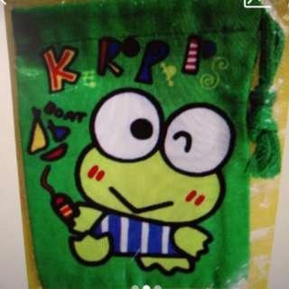 Keroppi 絕版小索袋