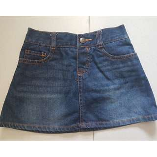 OshKosh Denim Skort 5 years old