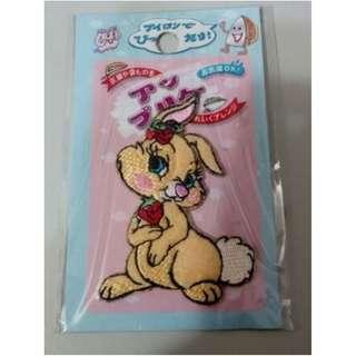 刺繡貼布 櫻桃 兔子