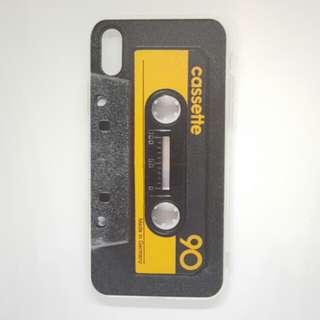 "IphoneX 卡色帶電話殼 ""Cassette 90s"" phone case"
