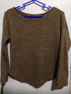 Brown knits