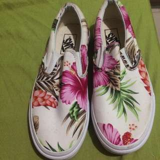Repriced VANS SLIP ON HAWAIAN