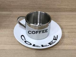🆕 Coffee Cup & Saucer