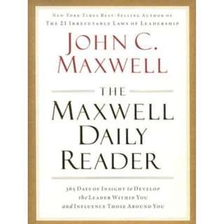 [eBook] The Maxwell Daily Reader - John Maxwell