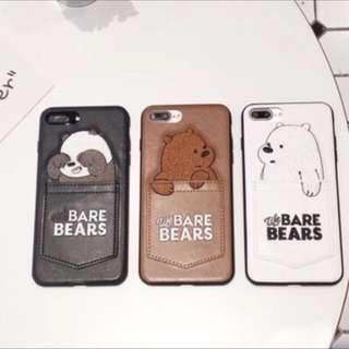 熊熊遇見你 i7 plus / i8 plus 手機殼 全新