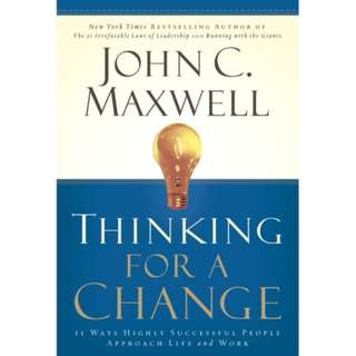 [eBook] Thinking for a Change  - John Maxwell