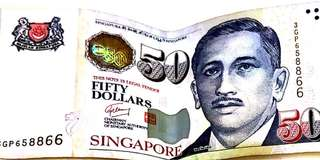 Authentic $50 note