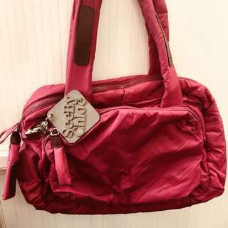 See by Chloe shocking pink bag 粉紅袋