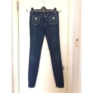Dolce & Gabbana     Ladies Stretch Jeans    女裝 彈性 牛仔褲   *Size 27