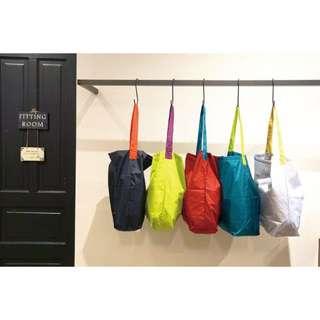 日本代購-超輕防潑水摺疊環保袋-S