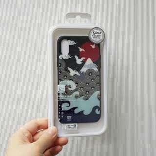 iPhone X Case 日系富士山電話殼