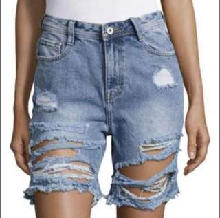 Misguided high waisted shorts