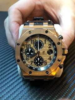 AP audemars piguet gold 42mm