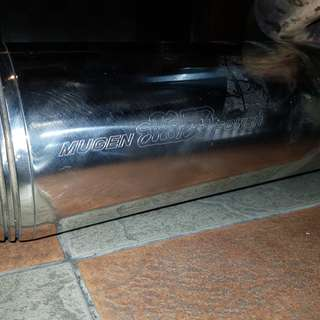 Honda Airwave Mugen Exhaust