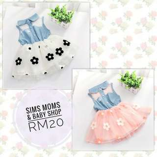 PROMO SALE RAYA BABY GIRL DRESS