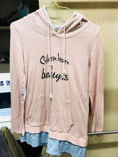 Betty's 長版粉色上衣